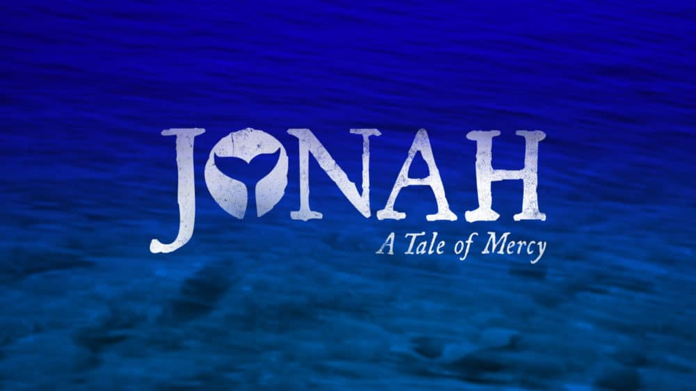 Poster for Hope Church's Jonah - A Tale of Mercy message series