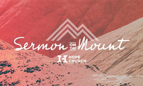 "Poster for Sermon Series ""Sermon on the Mount"""