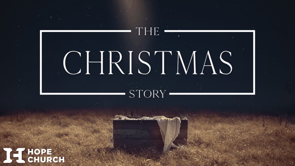 Banner and Title For New Sermon Series Christmas Hope 2020