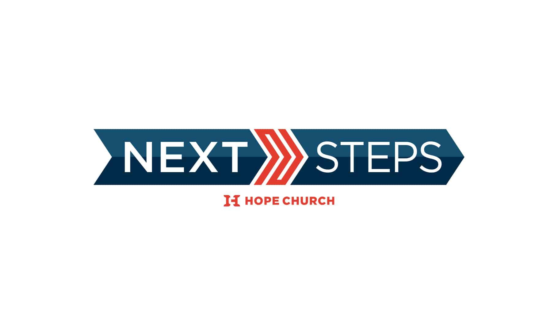 Banner for Hope Church's Next Steps