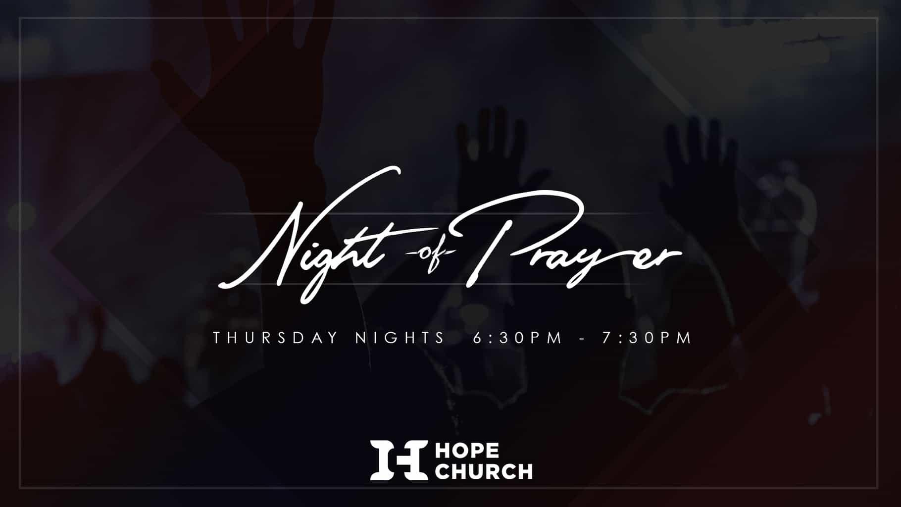 Night of Prayer Placeholder
