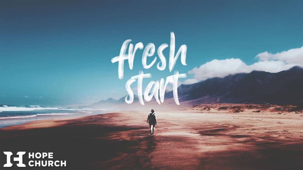 Fresh Start Sermon Holder